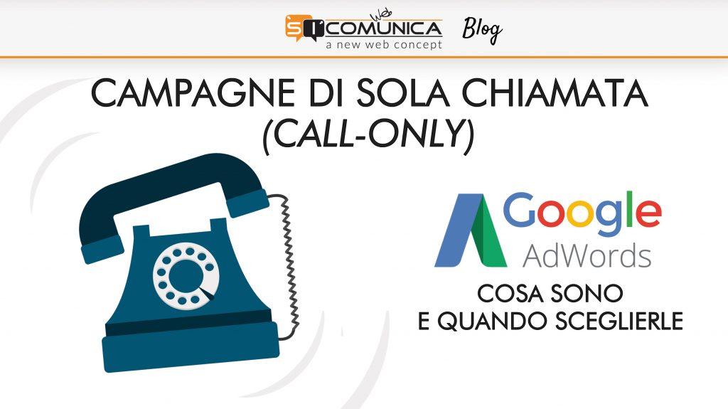 campagne di sola chiamata google adwords
